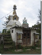stupa on trek