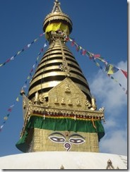stupa with eyes at monkey temple-001