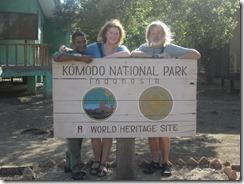 Joyce and Tom at Komodo National park