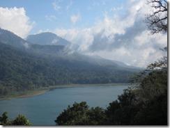 view on drive to Menjangan Island