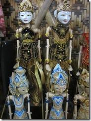 wood puppets