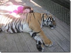 Joyce sleep with tiger