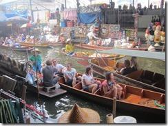 the tourist floating market