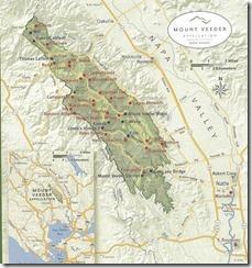 Mt Veeder Map
