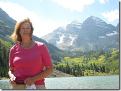 Joyce at MAroon Bells-g