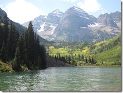 Marron Bells and lake