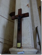 Cross made out of the tree where Livingston dies
