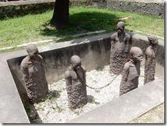 Slave market sculpture
