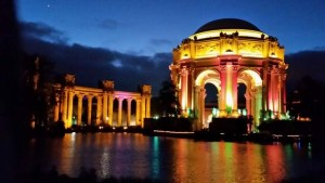 2015-02-21 Palace of Fine Arts lighted up 02.47