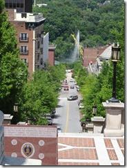 Lynchburg-steps to fountain