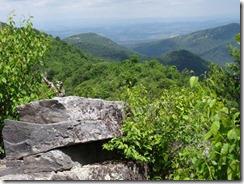 Shenendoah-hike-Blackrock scree view-g