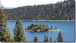 Tahoe-Emerald Bay-island from above