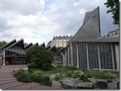 Jean d'arc church outside