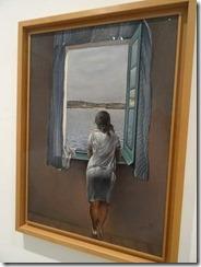 Dali, girl at the window 1925