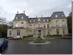 Main hotel at Le Jardin