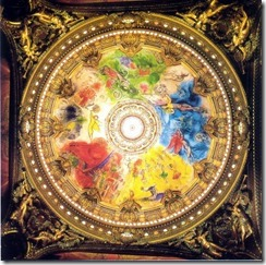 Marc Chagal ceiling