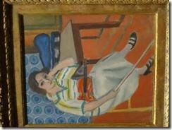 Matisse – Femme au violon