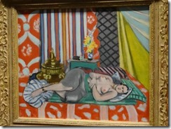 Matisse- Odalisque a la culotte grise