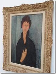 Modigliani – Femme aus yeux bleus
