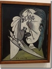 Picasso, weeping woman head with handkerchief 1973