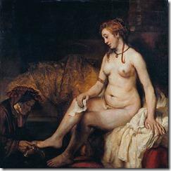 Rembrandt_Harmensz__van_Rijn Bathsheeba_016