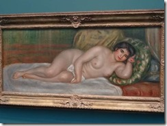 Renoir – Femme nue couchee (Gabrielle)