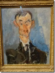 Soutine - Portrait of a Man