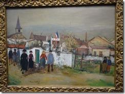 Utrillo -La Marie au Drapeau
