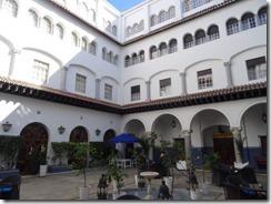 Hotel el-Minzah courtyard