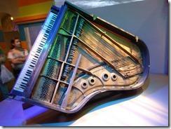 Fats Domino piano after Katrina