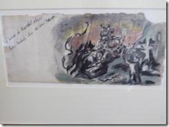 P1000554 Jackson Pollock Greeting Card