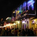 bourbon Street at night 01