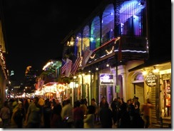 bourbon Street at night 01