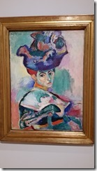 Matisse Woman in a hat