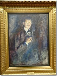Munch - Self Portrait