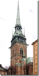 St Gertrude's Church Stockholm
