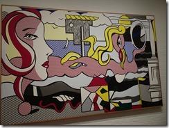 Lichtenstein - Figures in Lanscape - 1977