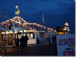 Brighton Pier at night 04