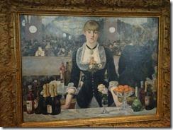 Manet - A Bar at the folies-Bergere 1881