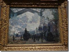 Monet - The Gare St Lazare 1877