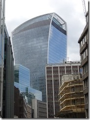 Walkie talkie building London