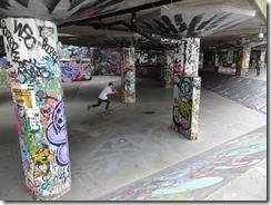kids skateboarding in London