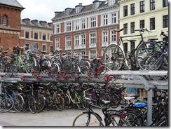 train station bikes