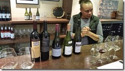Yalumba wine tasting