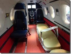 flying doctors plane inside