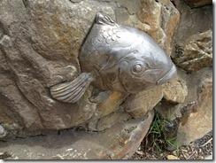 eastern blue grouper sculpture