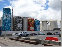 Auckland Wynyard Quarter storage tanks