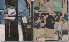 Matisse Goldfish and Palette and Diebenkorn Urbana 6
