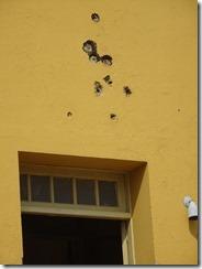 Moncado bullet holes
