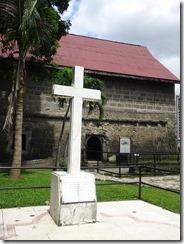 Fort Santiago- memorial cross